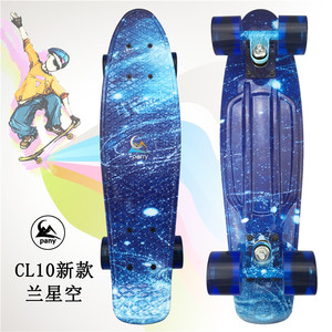 Image 5 - Mini Cruiser Skateboard LED Light Four Wheel Skate Board Adult&children Tablas De Skate Board Loaded Skateboard Complete