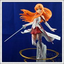 23cm High Quality Sword Art Online Model Yuki Asuna Action Figure SAO Asuna Figure Toy