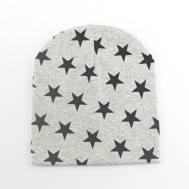 Цельнокроеное платье зима-осень крючком Детская шапка для девочек и мальчиков Кепки унисекс берет Звезда младенческой трикотажные хлопок малышей Новые детские 13 видов цветов