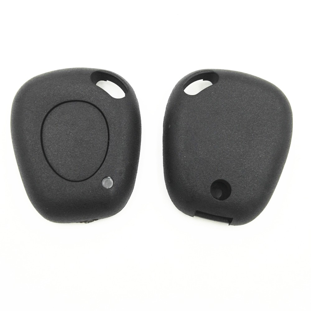 1 Button Remote Fob Cover Case Without Blade For Renault Duster Logan Movano Trafic Kangoo Fluence Clio Replacement Blank Key