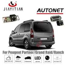 Câmera de Visão Traseira Para Peugeot Partner Tepee JiaYiTian/Grande Ataque/Fazenda/Backup Da Câmera/4 LEDS CCD/Visão noturna/câmera Placa De Licença