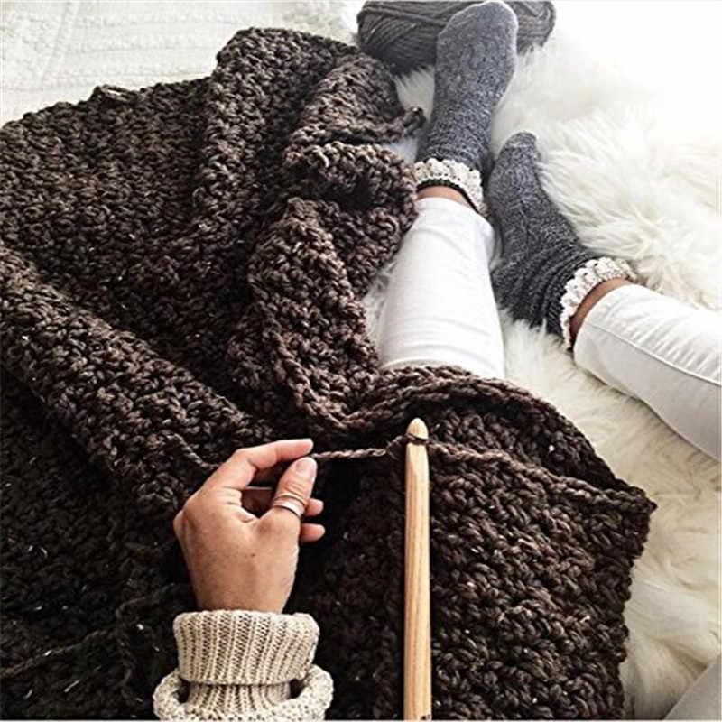 20 pz/set 100% di Bambù Crochet Aghi Set dimensioni 3.0 millimetri-10.0mm Maglione Crochet Hooks Needles Knit FAI DA TE Fatti A Mano strumenti del mestiere