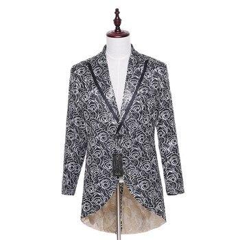 Designer Brand Winter Fashion Men Business Dress Suit Jacket Blaser Masculino Slim Fit Casual Formal Pattern Blazer CUSTOM