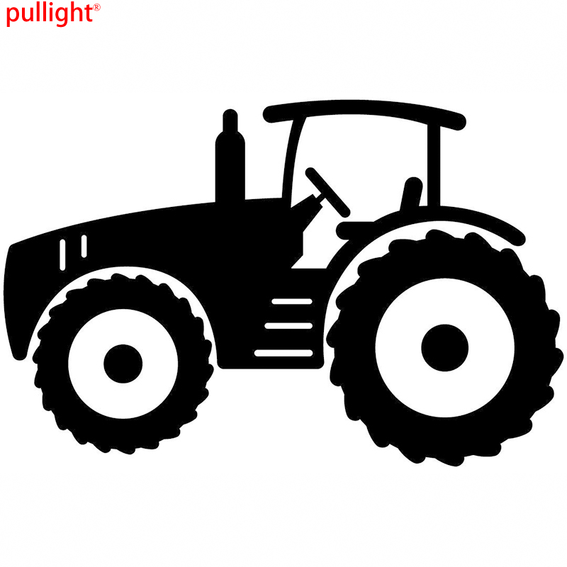A Cool Tractor Farmer Sticker Or Decal Vinyl Cut Great