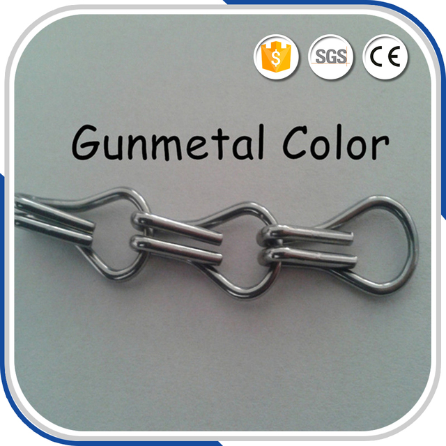 100% aluminum anodized fly screen chain curtains-in Door & Window ...