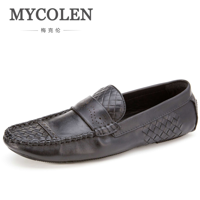 MYCOLENS Leather MenS Luxury Designer Flat Shoes New Soft Bottom Casual Shoes High Quality MenS Casual Shoes Flat Shoes DrivinMYCOLENS Leather MenS Luxury Designer Flat Shoes New Soft Bottom Casual Shoes High Quality MenS Casual Shoes Flat Shoes Drivin