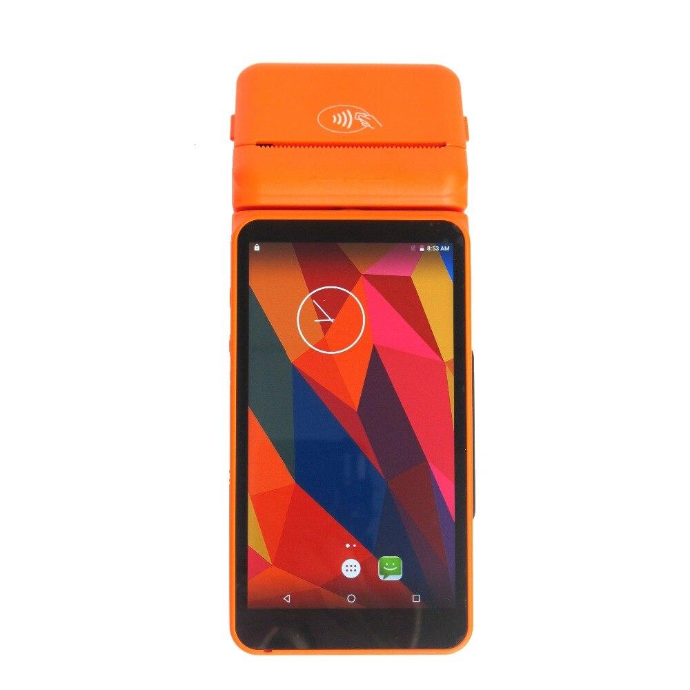 5.5 Дисплей ручной Беспроводной кредитной карты салфетки машина банковская карта оплаты Системы Android pos-терминал с 4 г WI-FI билл принтера
