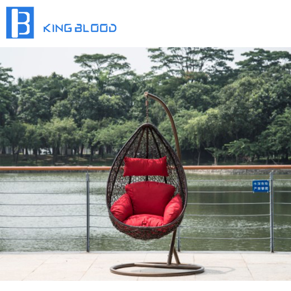 cheap price Outdoor patio egg swing hanging chair for garden