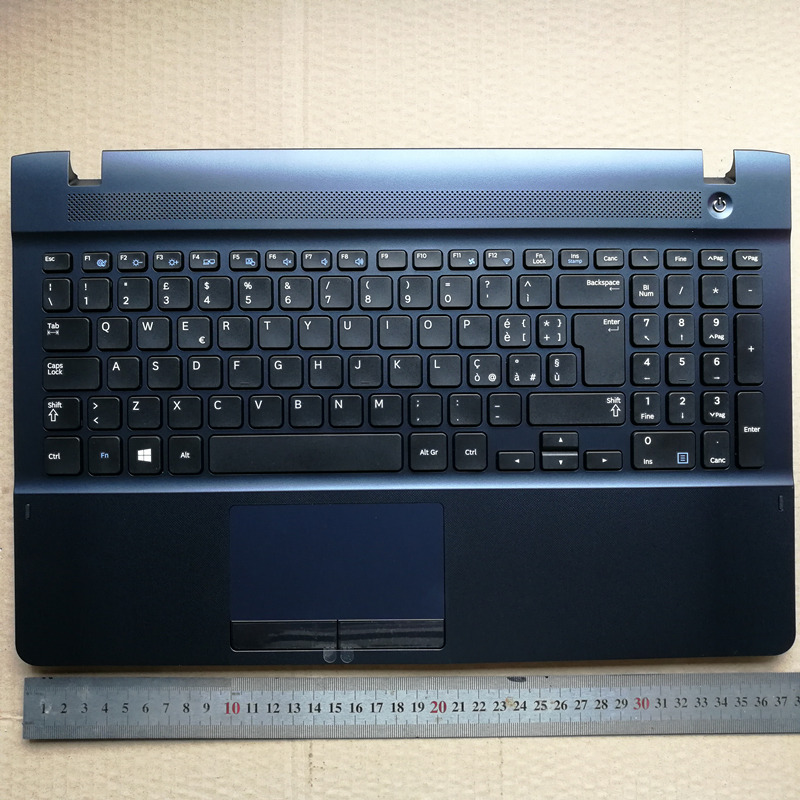 Italy IT layout new laptop keyboard with touchpad palmrest for Samsung 270E5V 270E5E 300E5E 275E5V 275E5E BA75-04641E