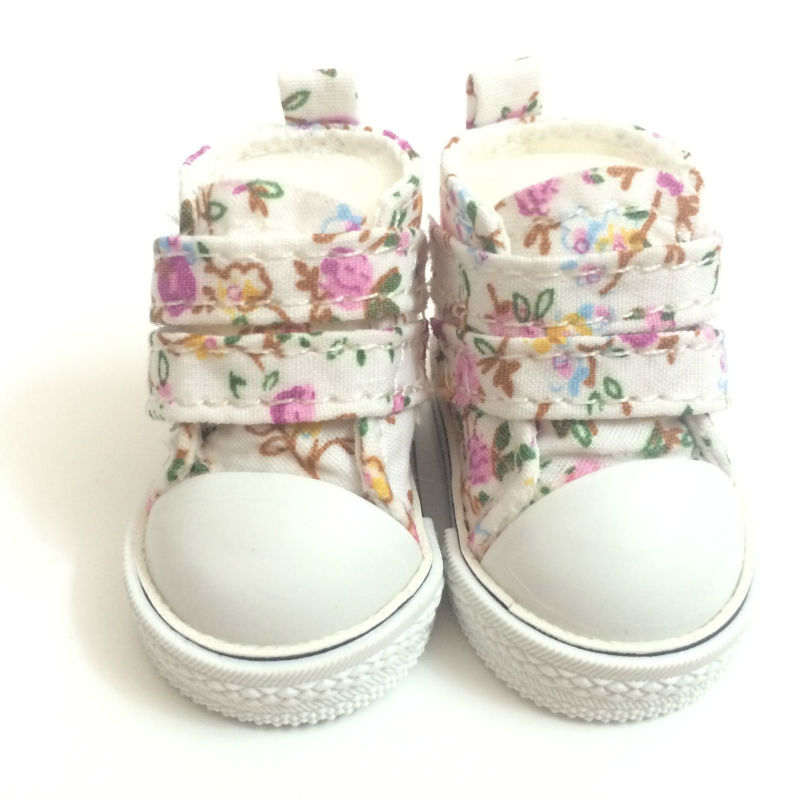 5 CM Mini Toy Canvas Shoes 1/6 BJD Doll Shoes for Dolls,Fashion Causal Sneaker Shoes Doll Boots Dolls Accessories 6 Pairs/Lot beioufeng 3 8cm fashion doll shoes for blythe doll toy mini gym shoes sneakers for dolls bjd doll footwear sports shoes 6 pair