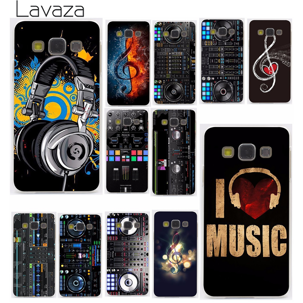 Lavaza ddj dj music Hard Case for Samsung Galaxy S3 S4 S5 & Mini S6 S7 Edge S6 S8 S9 Edge Plus