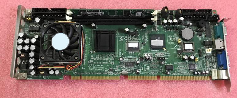 PCA-6003 PCA-6003VE A2  industrial motherboard tested good board with fan cpu and ram купить