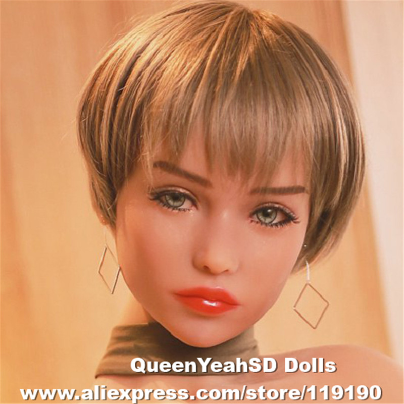 New Oral <font><b>Sex</b></font> <font><b>Doll</b></font> Head Japanese Lifelike Silicone Love <font><b>Dolls</b></font> Heads For 170cm 168cm <font><b>165cm</b></font> 158cm 155cm 148cm 145cm 140cm image