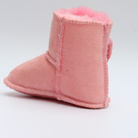 2016 Winter Baby Boy Fur Snow Boots For Girl Newborn Warm Shoes Infant Toddler Soft Sole
