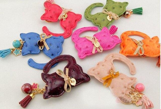 Животных кожаный брелок кисточкой женщин сумки аксессуары оптом/брелок для автомобиля/llavero cuero/chaveiros/sleutelhanger/porte clef