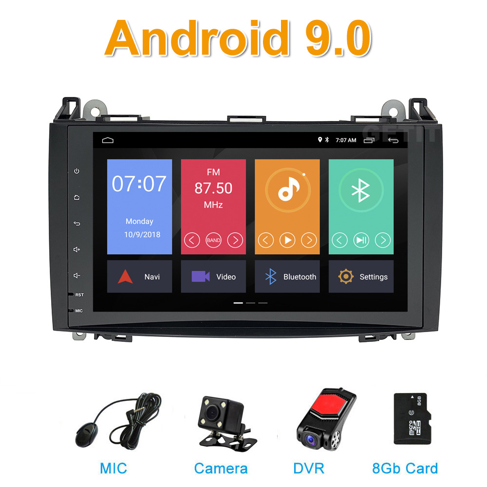 Android 9 0 9Inch For Mercedes/Benz/ Sprinter B200 B class