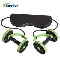 Bluerise Apparecchi Formazione Multi-funzione di Palestra Attrezzature Per Il Fitness Abs Trainer Ruota Addominale Rulli per addominali Macchina di Esercizio di Fitness
