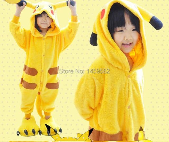 Gratis pp hotonesieAnime Animal Dibujos Animados para niños Animales Niños  Pokemon Pikachu Onesie Pijamas Ropa de 7f5b30ca3d33