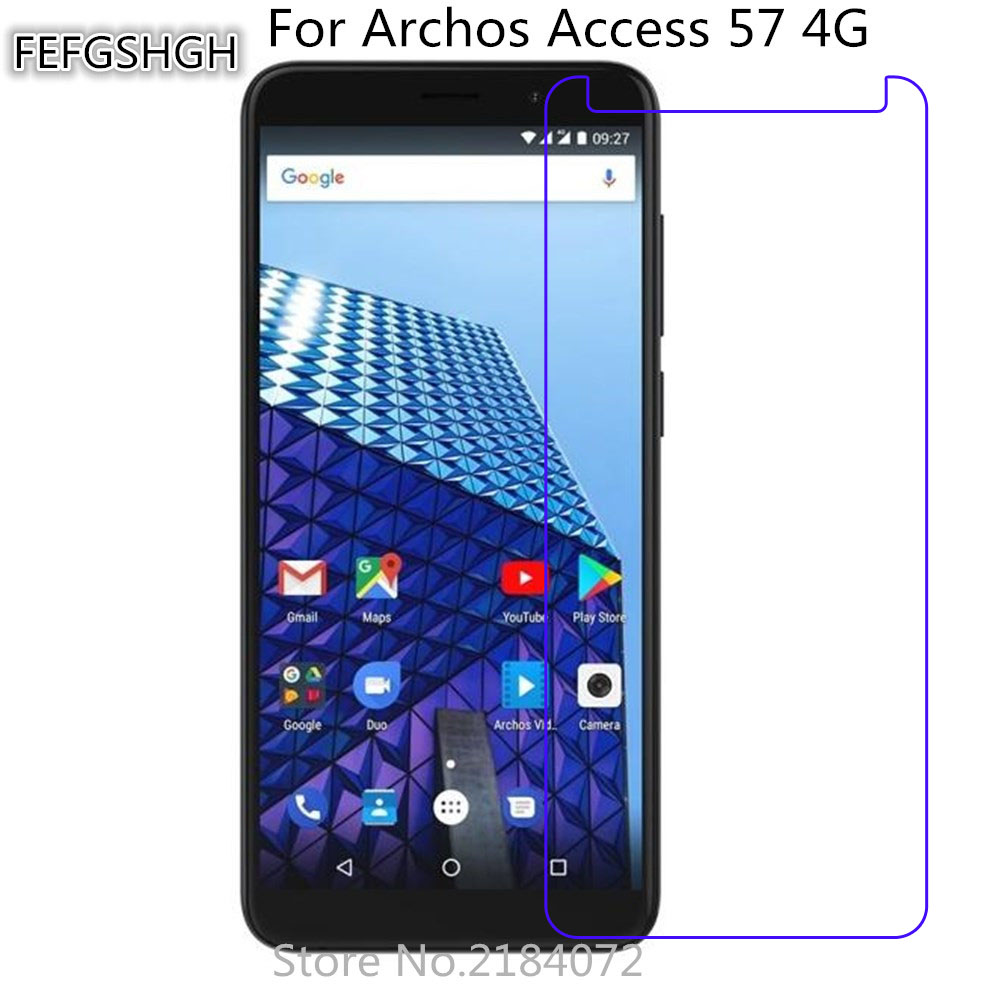 2pcs Tempered Glass For Archos Access 57 4G Protective Film Screen Protector Explosion-proof For Archos Access 57 4G