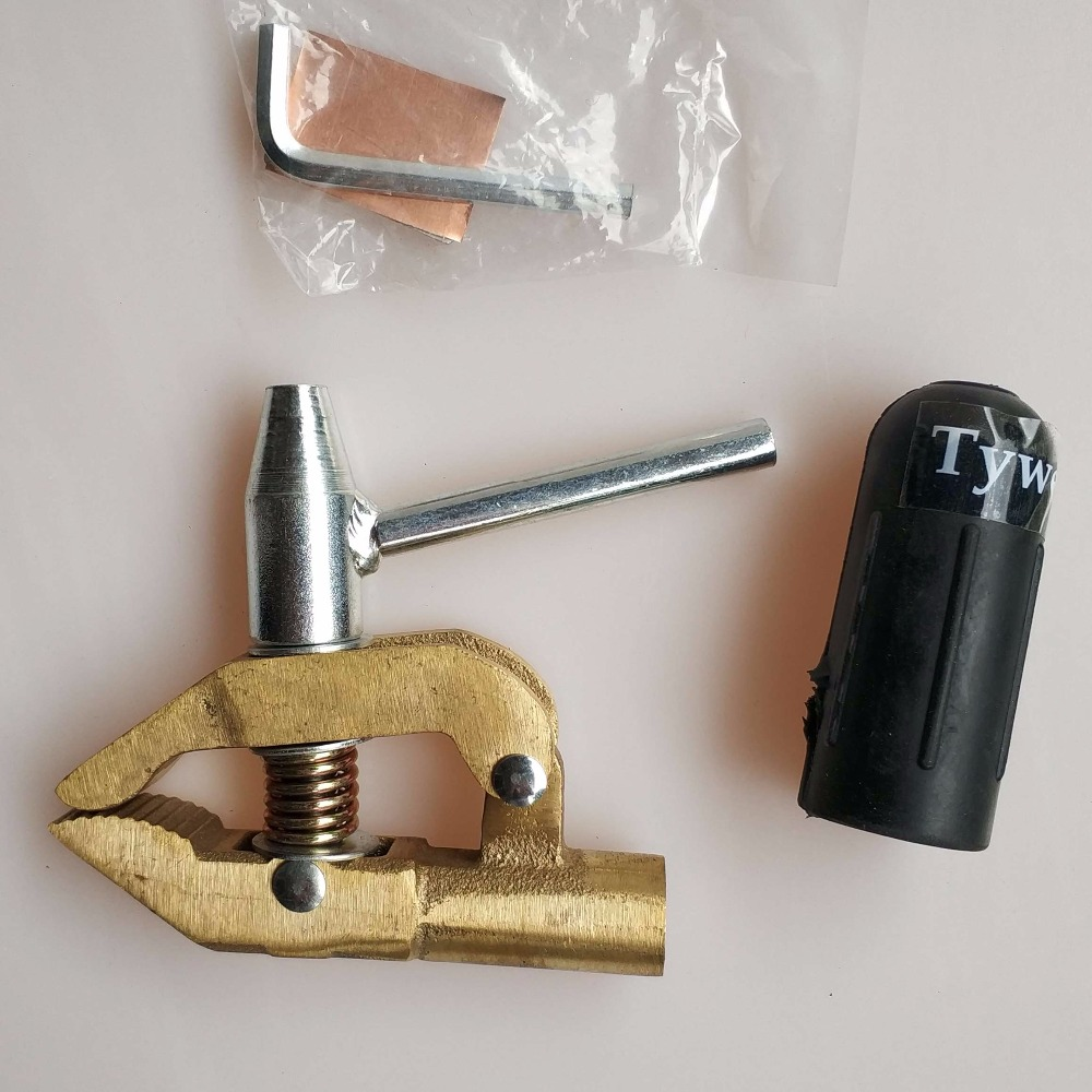 Pro Earth Clamp Ground Clamp 600A Full Copper Body Heavy Duty Screw Type For MIG MMA TIG Plasma Submerge Welding Machine