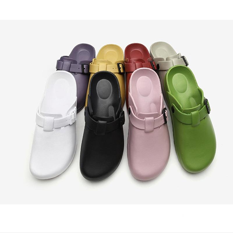 Lizeruee Summer Women Slippers Nurse Clogs Accessories Medical Footwear Orthopedic Shoes Diabetic Clog EVA Light Weight CS576 4