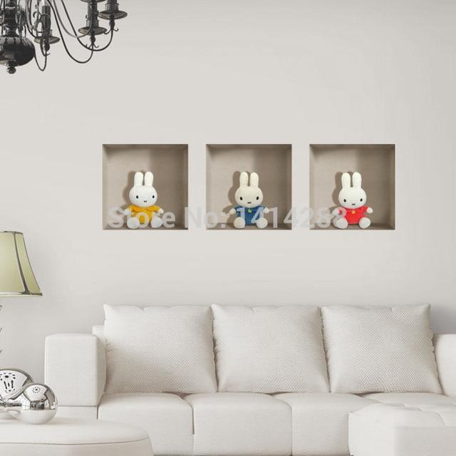 prinses woonkamer thuis wanddecoratie 3d driedimensionale muurstickers boekenplank wallpaper. Black Bedroom Furniture Sets. Home Design Ideas