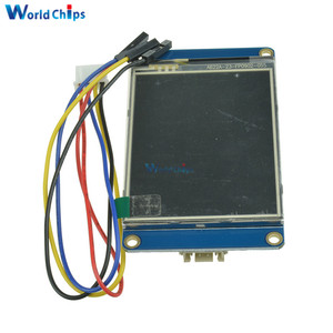 "Image 3 - 2.8"" Nextion HMI Intelligent Smart USART UART Serial Touch TFT LCD Module Display Panel For Arduino Raspberry Pi 2 A+ B+ Kits"