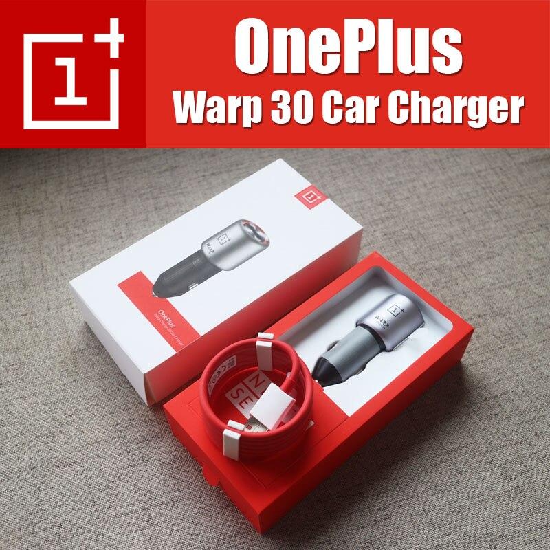 C102A 39g seul OnePlus Charge de chaîne 30 chargeur de voiture 5V = 6A max pour OnePlus 7 Pro 7 6T 6 5T 5
