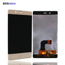 For ZTE Nubia Z9 NX508J LCD Display Touch Screen Digitizer For ZTE Nubia Z9 Assembly Replacement Screen LCD Display недорго, оригинальная цена
