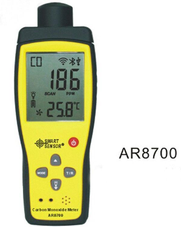 AR8700 Gas Detector Carbon Monoxide Monitor Response Time<1s