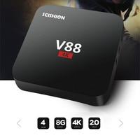 SCISHION V88 TV Box Android 5 1 Rockchip 3229 Quad Core 4K H 265 1GB 8GB