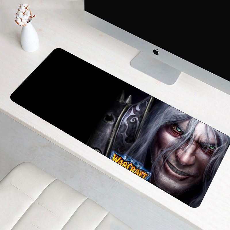 70x30cm XL Warcraft III Frozen Throne Gaming Mouse Pad Large WOW Padmouse Decoration For Speed Professional Laptop Notebook Mat