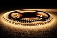 Светодиодный Felxible лента освещение SMD3528 600 светодиодов 12 В DC теплый белый 3000-3200 К IP20 РА 90 + украшение дома лампа высокой яркости
