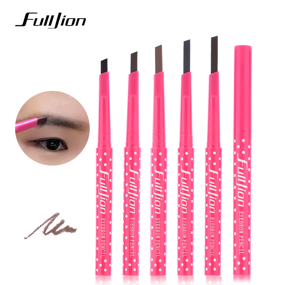 Waterproof Permanent Powder Pen Makeup Eyebrow pencil Powder Color Cosmetic Black Brown Eye Brow Liner Shaper Eyebrow Makeup ...