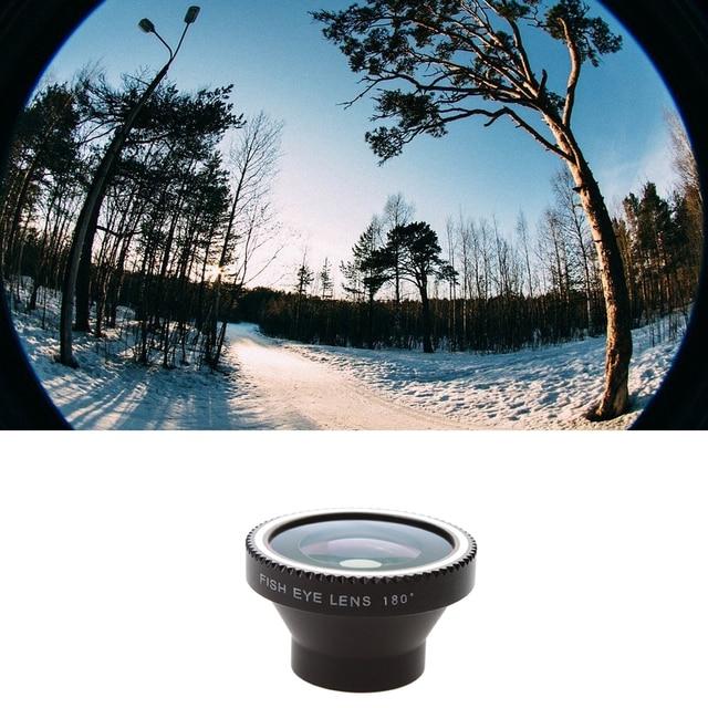 739bfacc0d9c6a 30pcs/lot 180 Fisheye Camera digital Detachable Lens kit For iPhone 4 5  Samsung S3 S4 LUMIA 920 Free Shipping CL-2