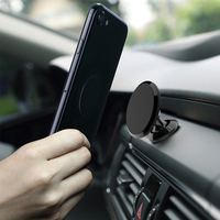 CTRINEWS Universal Magnetic Car Phone Holder 360 Rotation Air Vent GPS Mobile Phone Car Holder Stand