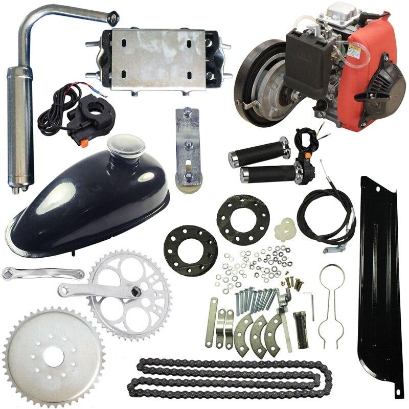 4 х тактный 49cc газ бензин моторизованный велосипед Скутер Комплект моторного двигателя Электрический скутер