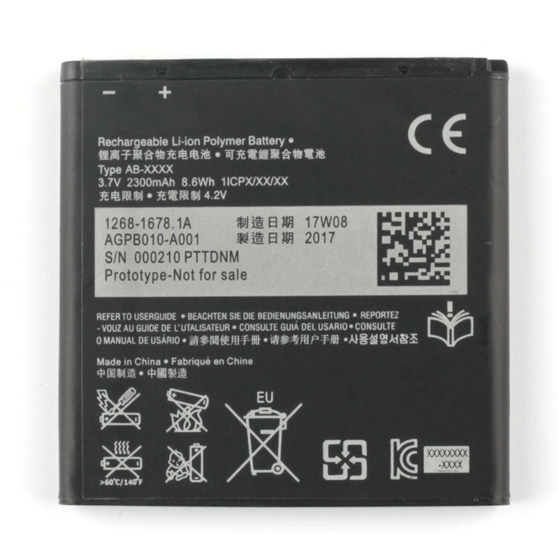 Original BA950 Battery For SONY Xperia ZR SO 04E M36h C5502 C5503 2300mAh BA 950 in Mobile Phone Batteries from Cellphones Telecommunications