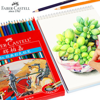 цена на Faber Castell 12/24/36/60 Colors Professionals Artist Oil Colored Pencil Set For Art School Student Sketch Painting Pen Supplies