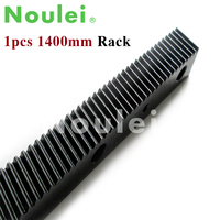 1.25 modulus Helical Teeth Gear Rack Steel 1400mm high precision 1.25mod for cnc router parts