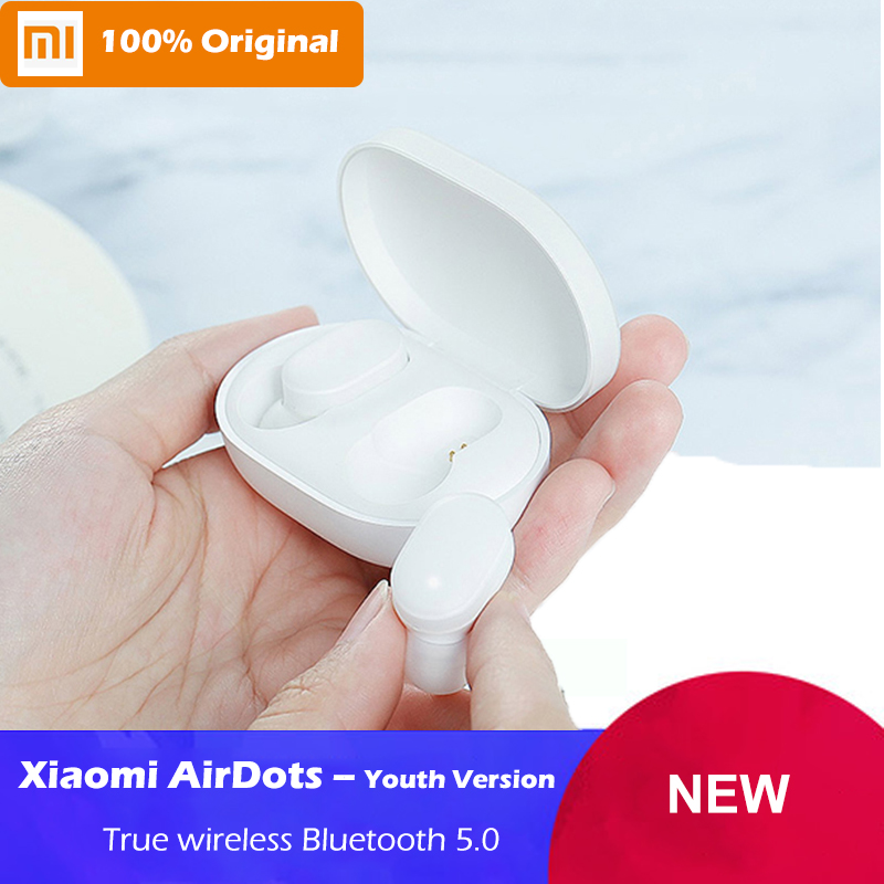Original Xiaomi AirDots Youth Version TWS Bluetooth 5 0 Headset Wireless Stereo Mi Mini In ear