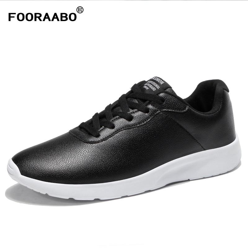 2018 Luxus Marke Mens Casual Schuhe Flache Männlichen Turnschuhe Hohe Qualität Leder Schuhe Männer Lace-up Wanderschuhe Zapatilla Hombre