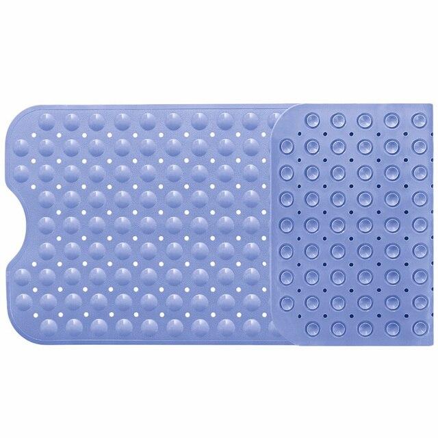 Vasca da bagno Zerbino s Antiscivolo Resistente alla Muffa Anti-Batterico Extra Lungo di Ghiaia Doccia Zerbino Accessori Per il Bagno