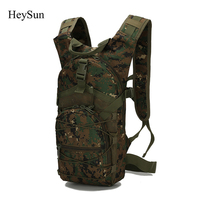 15L Ultralight Molle Tactical Backpack 800D Oxford Military Hiking Bicycle Backpack Outdoor Sports Cycling Climbing Bag