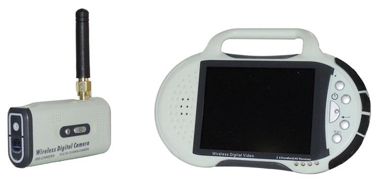 2.8 Inch 2.4Ghz Wireless Digital Signal Baby Camera LED Night Vision Baby Monitor