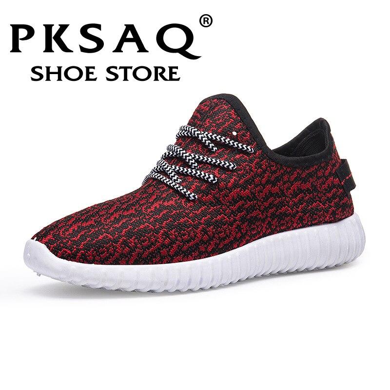 Vintage dad Men shoes 2018 kanye west fashion mesh light bre