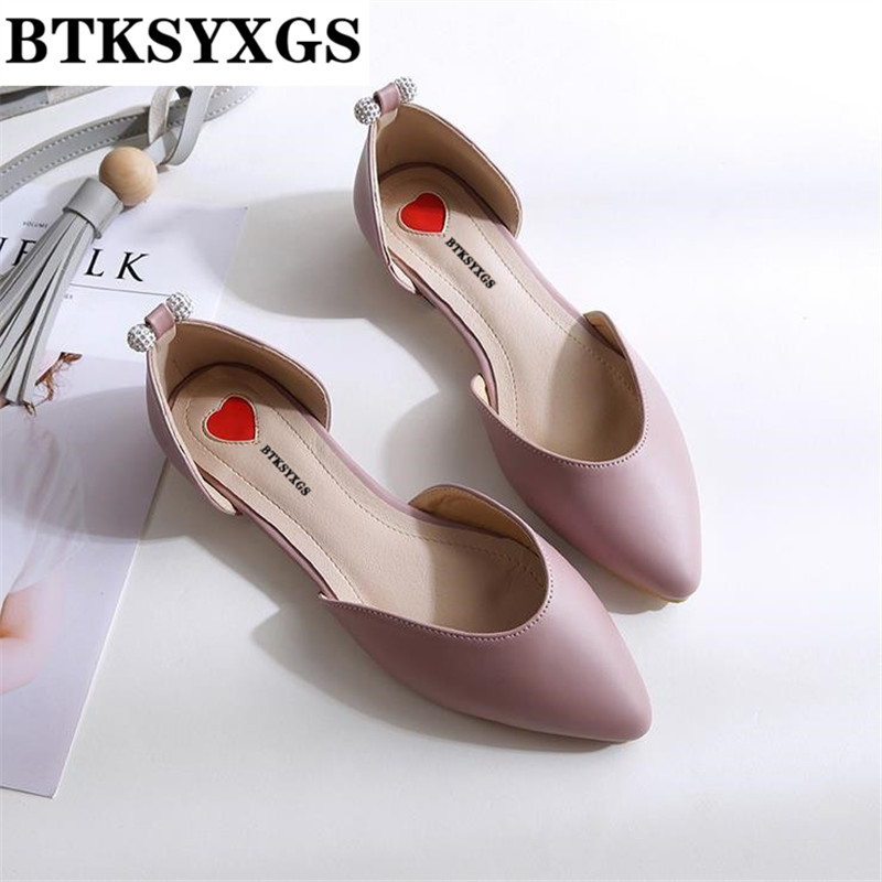 High end! Women's shoes flats leather 2017 New Tide fashion pointed toe comfortable plus size 31-43 woman casual flat heel shoes new listing pointed toe women flats high quality soft leather ladies fashion fashionable comfortable bowknot flat shoes woman