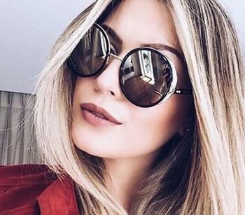 JackJad 2017 Fashion SteamPunk Vintage Round Style Sunglasses Women Side Cover Gradient Brand Design Sun Glasses Oculos De Sol 8
