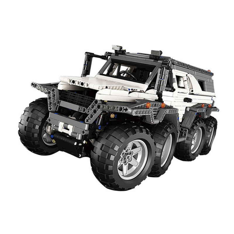 23011 23007 20030 Technic Series Remote Control Off road Vehicle Model Building Kits Block Educational Bricks