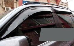 Per mercedes benz ml w164 2006-2011 window visor vent ombra pioggia/sole/vento guard
